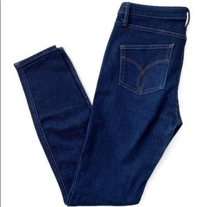 Calvin Klein Sculpted Skinny Jeans Dark Blue Sz 28